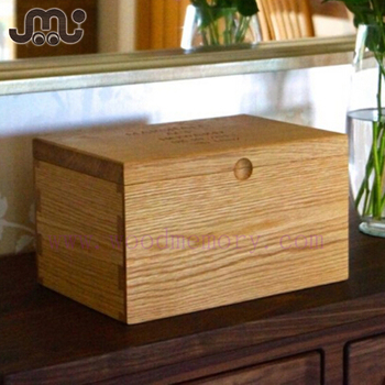 Classical Natural Solid Oak Wooden Bread Box,high Quality Unfinished Wooden Bread  Storage Box