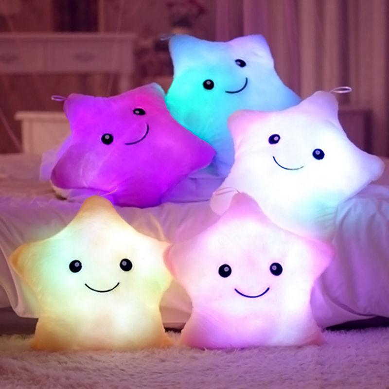 online kaufen gro handel led leuchten stern kissen aus. Black Bedroom Furniture Sets. Home Design Ideas