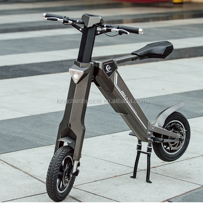 2017 New Robot Folding Electric Bicycle China Exclusive Ebike