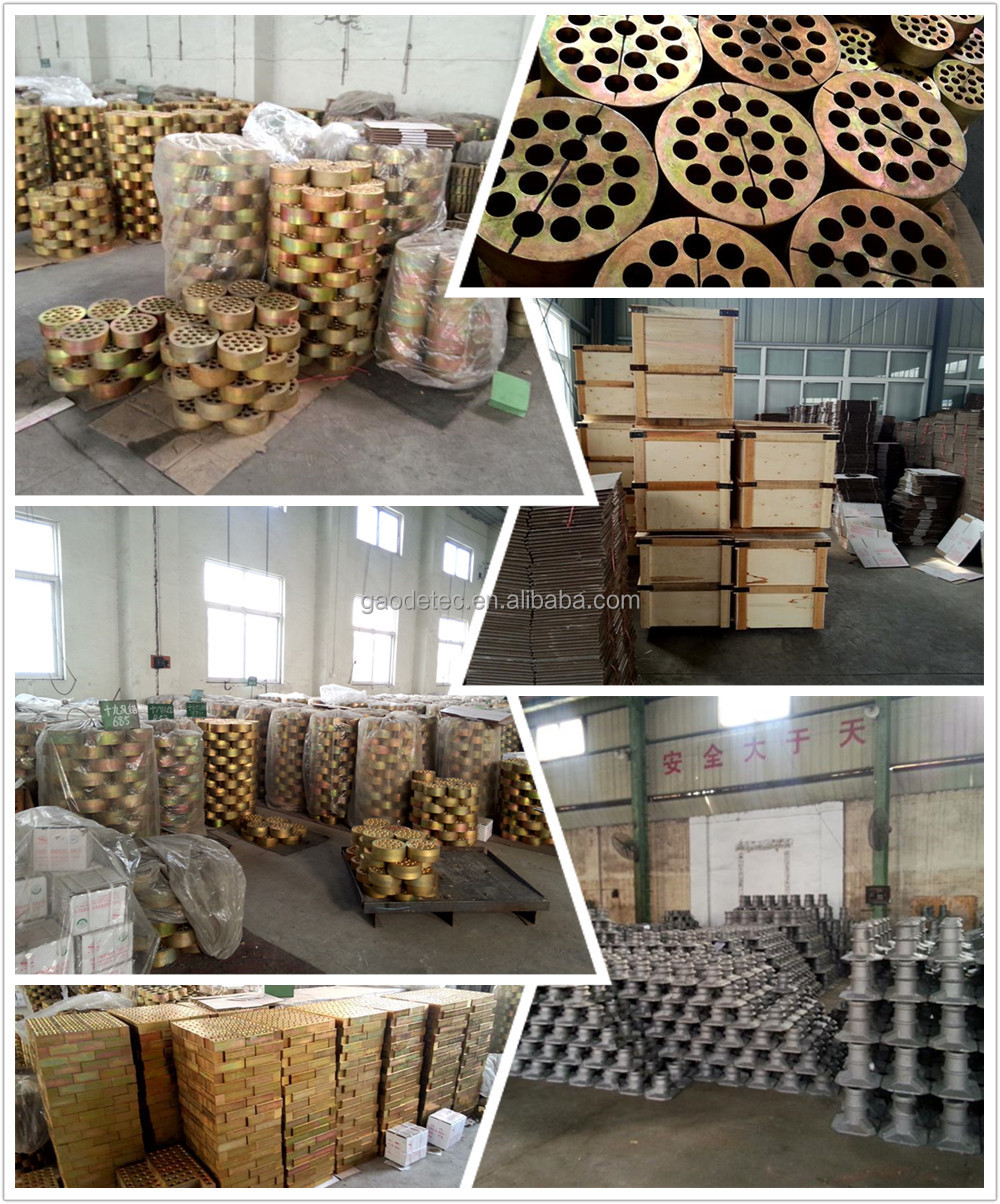 Post Tension Wedge Plate : Post tensioning prestressed anchor wedge plate for