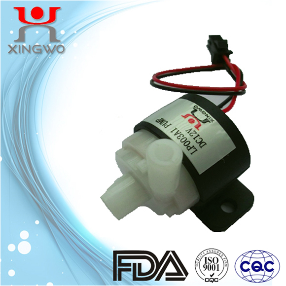 12V DC small centrifugal pump Water Pump LP003A2