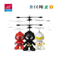 Induction Super Hero Mini RC UFO Infrared Sensor Flying Ball rc Drone Helicopter with controller
