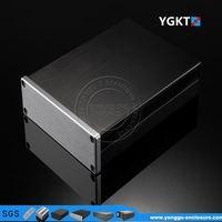 Custom fm transmitter for tv audio aluminum enclosure