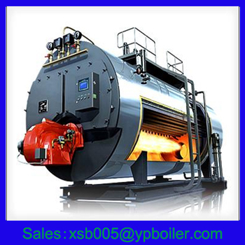 3-pass Corrugated Furnace Horizontal Style Gas/oil Fired Steam ...