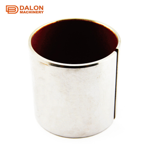 1010 metric du oilless cusn12 bronze stainless steel nylon plastic flange flanged thin wall dry sliding sleeve bushing bearing