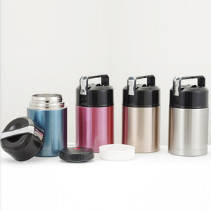 HT200022 Factory custom stainless steel vacuum food jar flasks thermos for food
