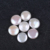 12-13mm natural color coin shape fresh water pearl beads for jewelry
