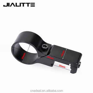 "Jialitte Scope Mounts 1"" Offset 25.4mm Ring Flashlight Light Laser Side Mount 20mm 7/8"" Weaver Picatinny Rail Mount J033"