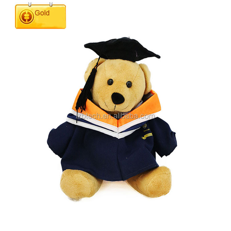 Big size fancy teddy bear Plush Soft Toy Graduation Teddy Bear Doll