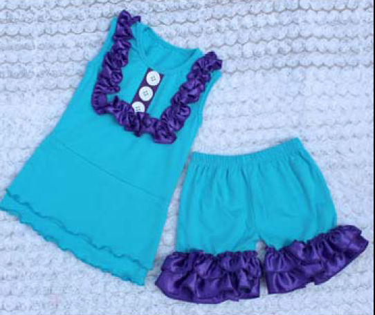 2014 New Design Baby Stretch Suit For Girls
