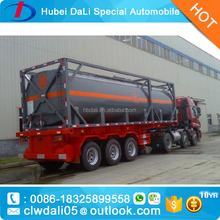fuel LPG Oil Propane iso tank container trailer for sale