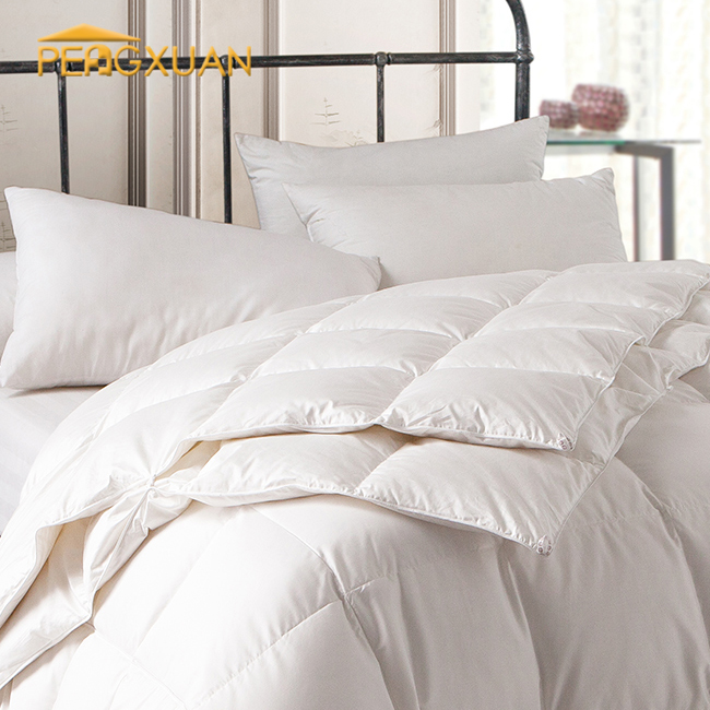 Customized High Quality high quality poly fiber Fill hotel korean comforter