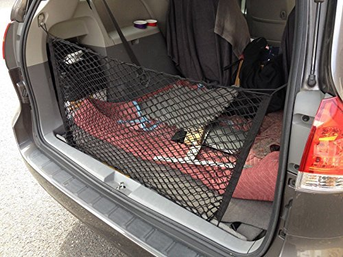 Envelope Style Trunk Cargo Net for TOYOTA SIENNA 2004 05 06 07 08 09 10 11 12 13 14 15 2016 2017 NEW