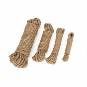 Wholesale 6mm Natural Jute Braided Hemp Rope For Decorative DIY Crafts