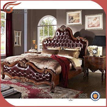 Hand Carved Luxury Bed Room,Royal Classic Bedroom Furniture - Buy ...