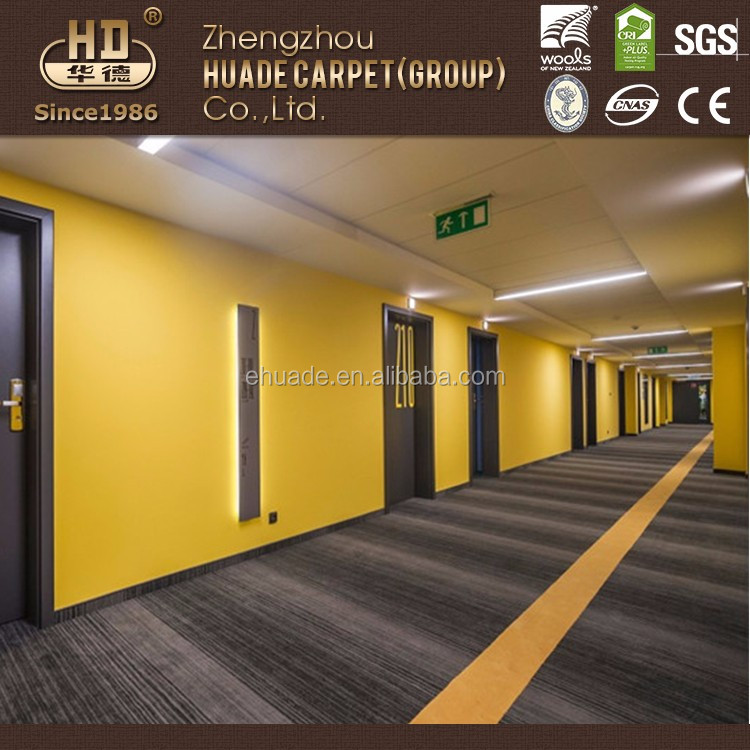 Modern Design Super Soft Hotel Corridor Tufted Carpet New Design