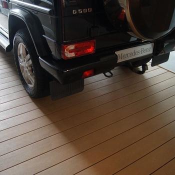 Outdoor Granite Floor Tile Car Parking