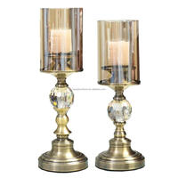 cheap new design decoration candle holders for wedding wholesale