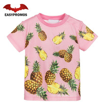 Wholesale China Screen Printing Custom Design Your Own T Shirt Pineapple