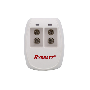 New product 2017 professional rydbatt/rydelec 2 Slot 9V Li-ion/Lipo smart charger