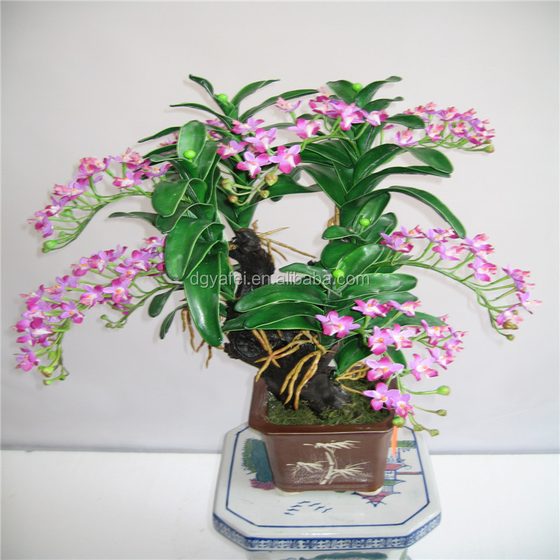 Artificiale piccola pianta bonsai/alberi artificiali landscaping