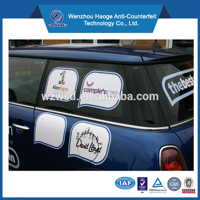 Pvc removable window stickereasy remove stickerselectrostatic window stickers