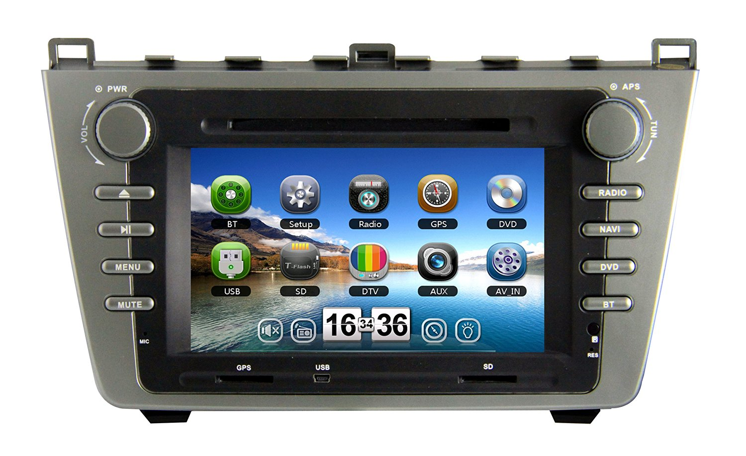 Get Quotations · Zestech Touch Screen Car Dvd Player for Mazda 6 2008-2012  with Radio Multimedia Navigation