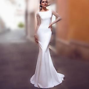 21eefaaa8e5b China sheer wedding dresses wholesale 🇨🇳 - Alibaba