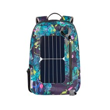 2017 New fashion comfortable shoulder solar power panel solar backpack
