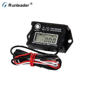Runleader Boat Outboard Mercury Hour Meter Tachometer For 2 & 4 Stroke  Small Engine