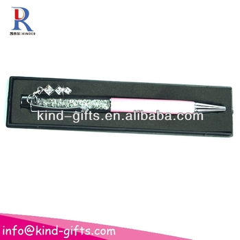 Crystal pen crystalline lady ballpoint pen KDBP036