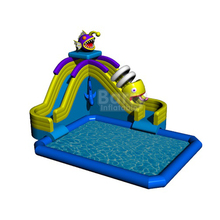PVC Tarpaulin aqua park equipment , aquapark inflatable water park