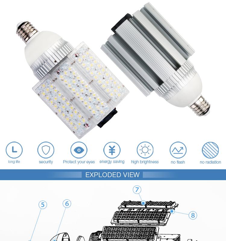 E40 80w Solar Street Light Fits For All Types Solar Led Street ...