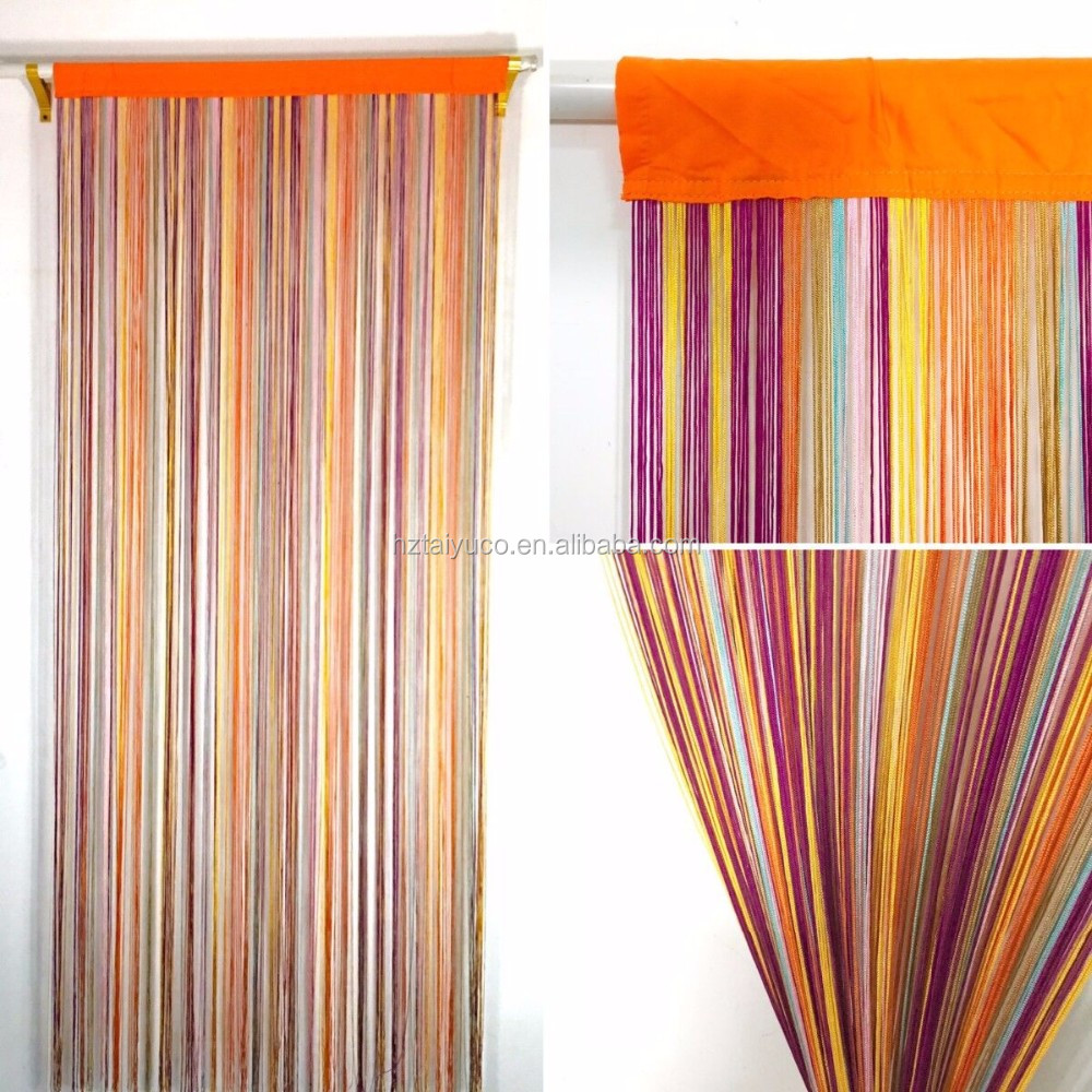 Rainbow Colorful String Door Curtain Fly Screen Buy