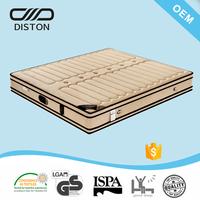 Air-flow 3D fabric double euro pillow top design sleep well mattress bonnell spring