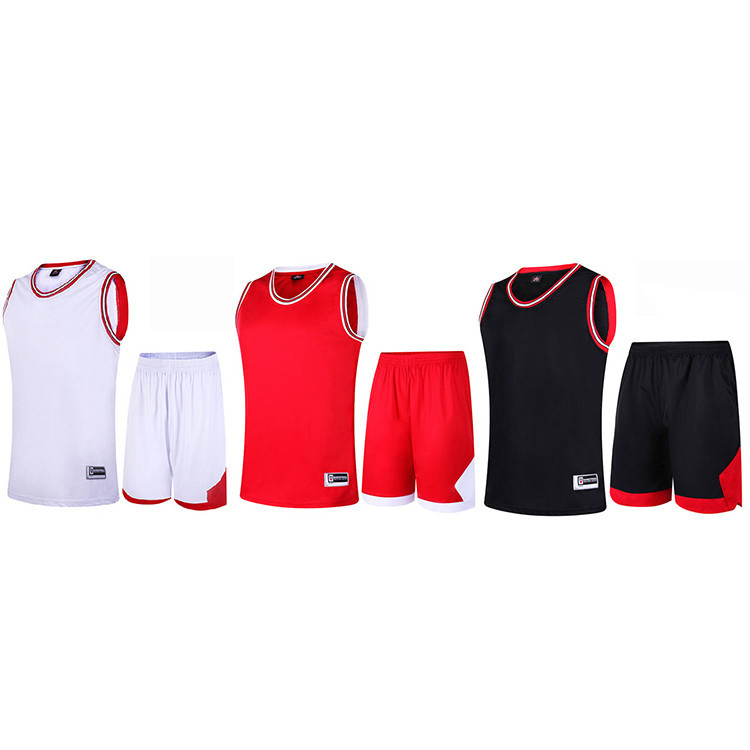 2018 Kinder Basketball Jersey Sets Uniformen Jungen Jugend Kinder-Kits Sport Trainingsanzug Shorts Reversible Quick Dry Trikots Hemden