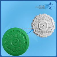 Factory Price Repeatedly Used Glassfiber Reinforced Mold For Gypsum Rosette