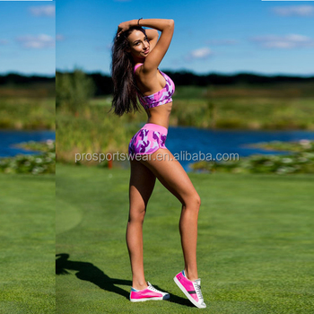 c0138d4ecae Women Gym Sportswear Camouflage Printed Suits Clothing Xxx Photo Sexy  Indian Girls In Shorts Sex Bra Set Images 2017 - Buy Women Gym ...