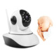 Baby Monitor Wireless 720P Indoor Night Vision Smart Home Security Pan/Tilt Micro SD Card WIFI PTZ CCTV IP Camhi Camera