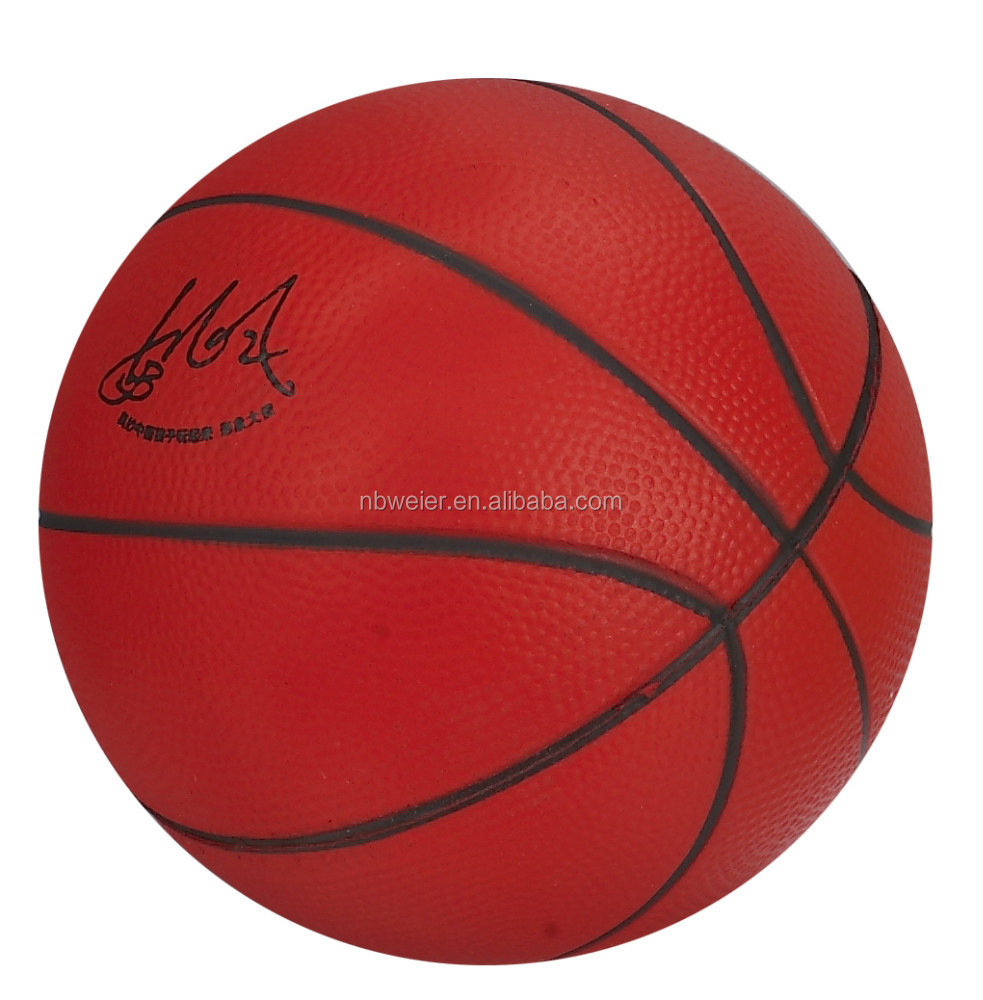 polyurethane(PU) foam basketball/PU basketball for decoration/PU stress baskeball promotional production for adults and kids
