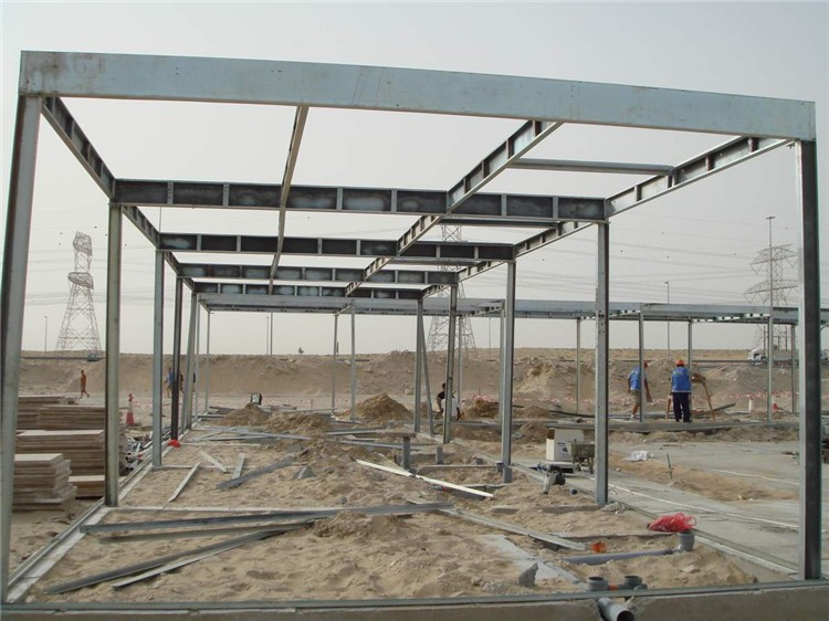 Sandwich panel prefabricated steel apartment building in Nepal