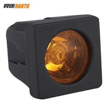 aluminum housing great price amber led work light bar