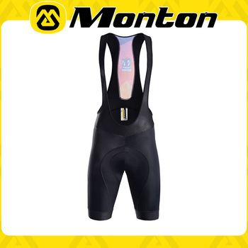 2016 MONTON Newest design cycling Bib pant with upgrade pro chamois