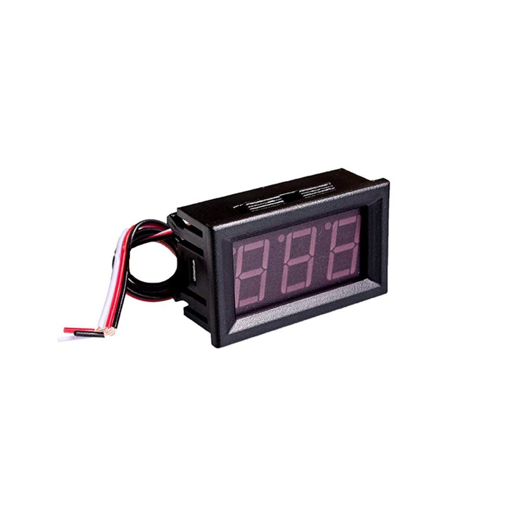 10PCS/LOT 0.56inch LCD DC 4.5-30V Red LED Panel Meter Digital Voltmeter with Two-wire Electrical Instruments Voltage Meters