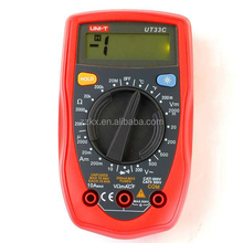 Palm Size Mini Portable Digital LCD Multimeter Current Voltage Resistance Tester Meter UT33C