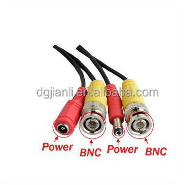 Quality BNC Video+DC Power Bunker Hill Security Camera Extension Cable