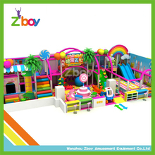 2017 new design candy style playground equipment indoor and new change kids indoor soft playground