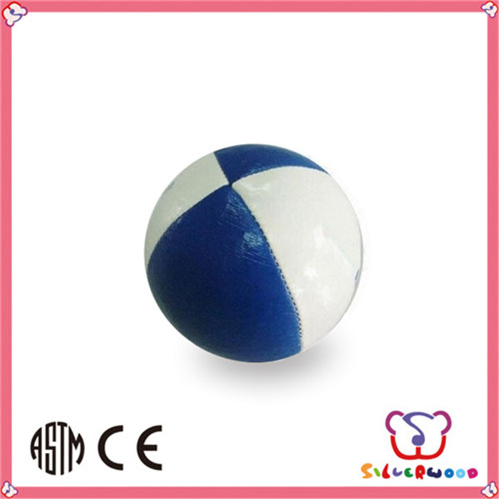 Eco-friendly Phthalates free high quality glow juggling ball