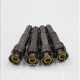 Gold plated mini waterproof whole copper American bnc connector for CCTV