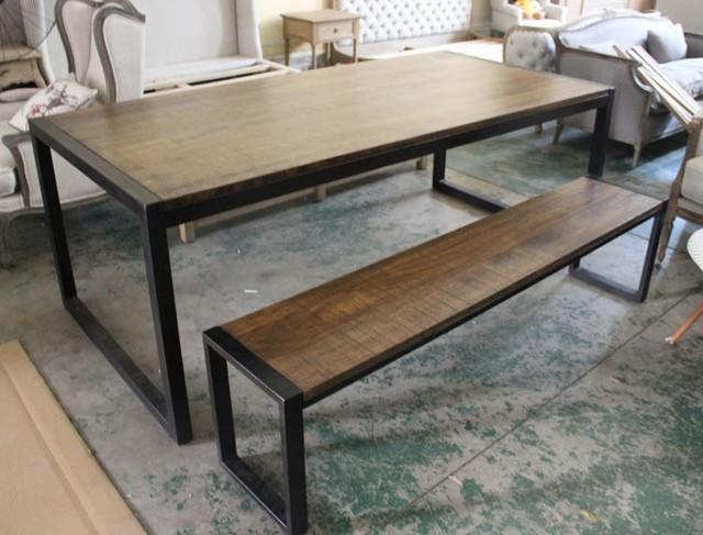 american franz sisch landhausstil massivholz dachboden gro en langen esstisch bank die alte. Black Bedroom Furniture Sets. Home Design Ideas